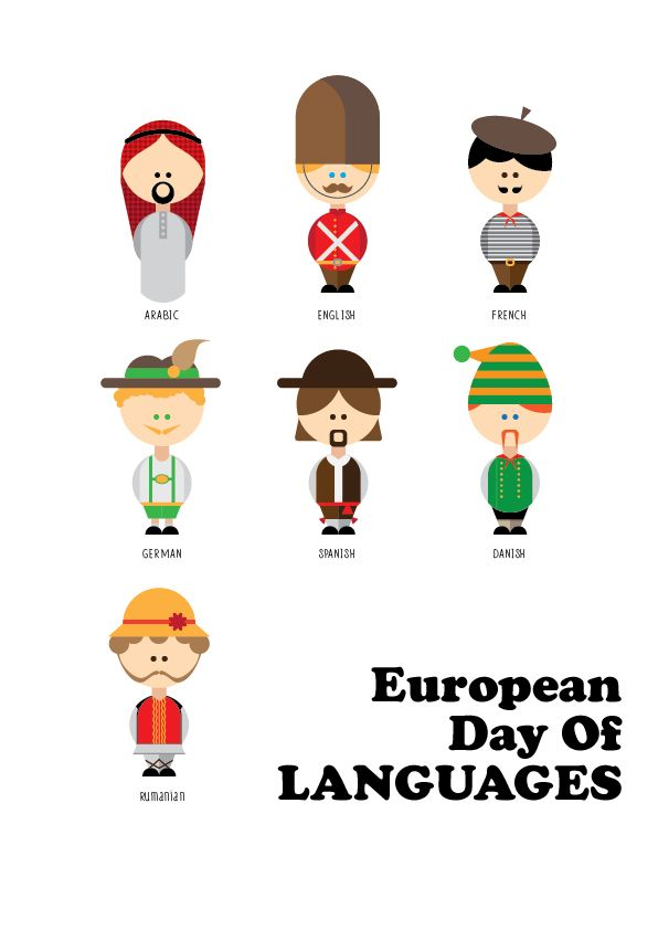 European day of languages on Behance