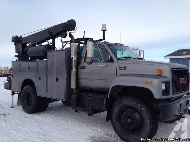 Welding Service Boom Truck for Sale in Logan, North Dakota ...