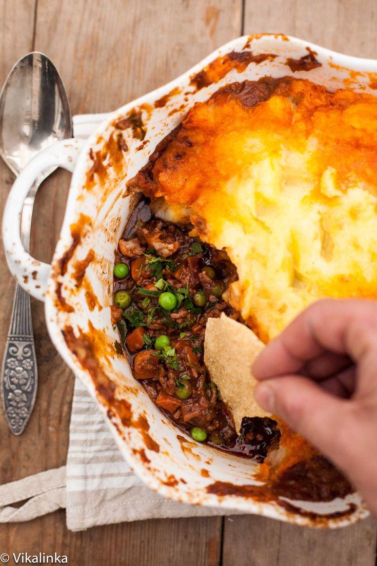 Shepherd's Pie with an indian twist- Vikalinka
