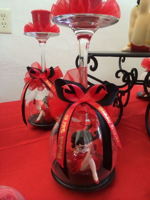 Betty Boop Birthday Party Ideas   Photo 5 of 23   Catch My Party