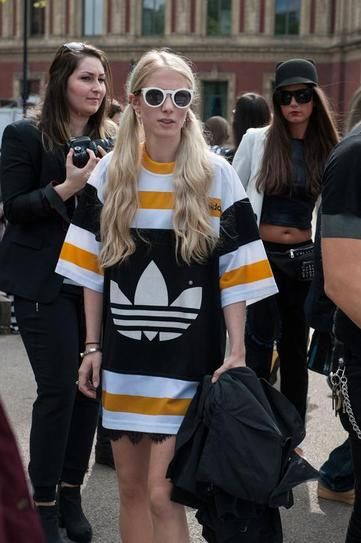 Sporty-Chic in London