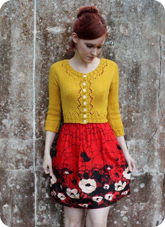 The Happiest Cardigan In My Closet | Kollabora #DIY #knitting