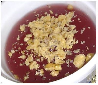 Flagrant food fawning: Moustalevria- Grape must pudding