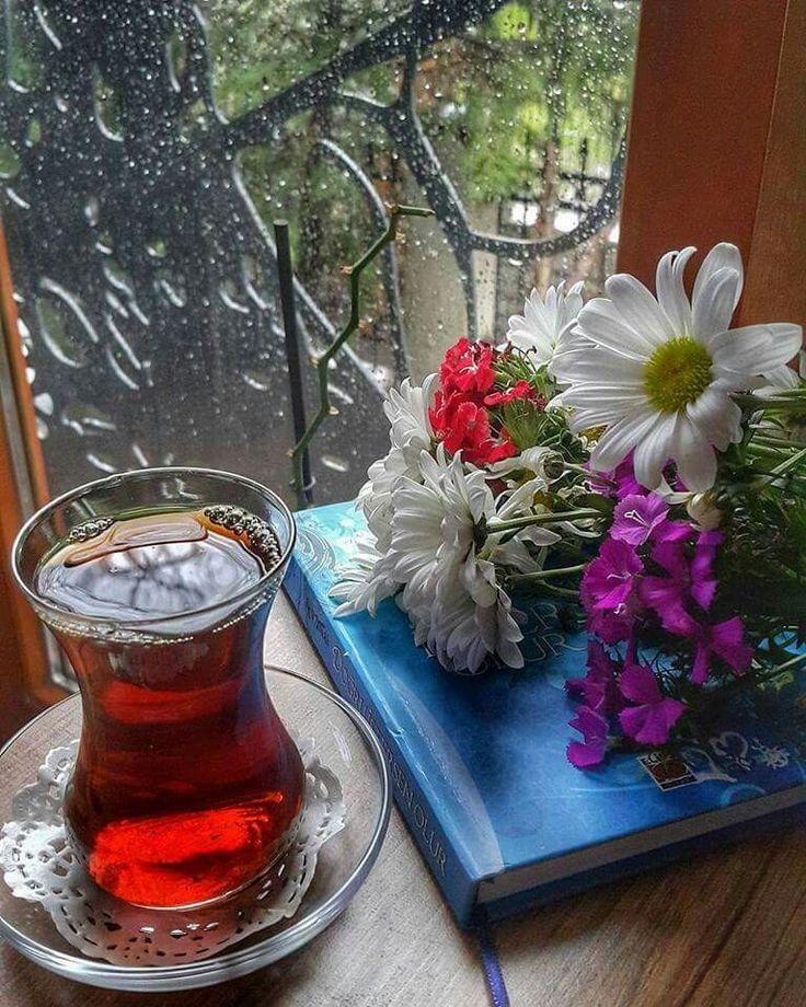⚡️Çiseleyen yağmurla,çayını yudumla...sıcacık olsun gönlündeki yaşattıkların,Huzur-u Âşk'la...