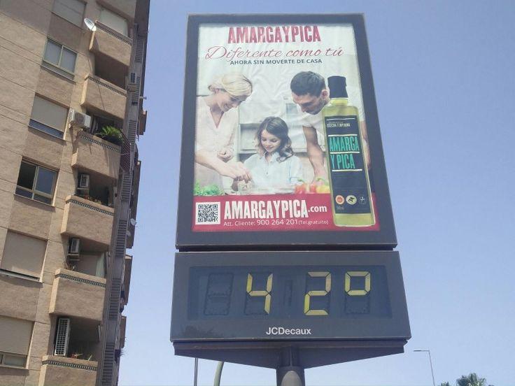 Aviso amarillo, hoy, miércoles en Jaén por máximas que alcanzarán los 38 grados