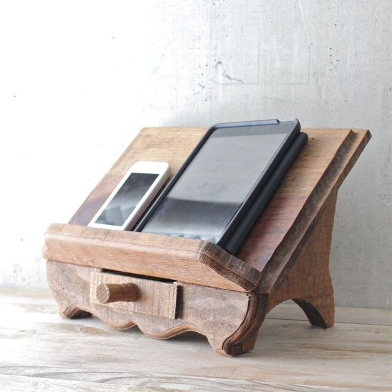 Vintage Wooden Book Stand