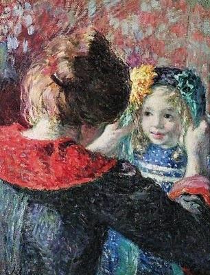 Madame Lebasque and Daughter Marthe