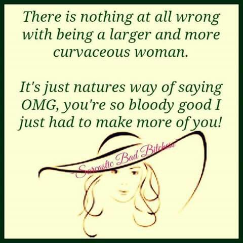 Its just natures way of saying...
