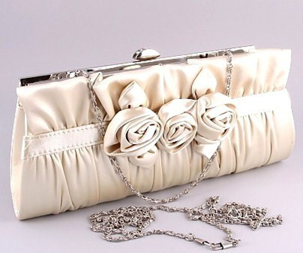 Vintage Silk Clutch With Rose Detail Perfect For Your Wedding Day Ideas Pinterest Purse Handbag And Elegant