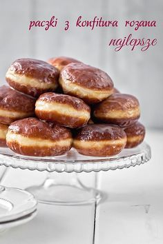 Pączki doughnuts with rose- Fat Tuesday (original site in Polish, translated via Google Translator)