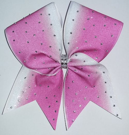 Sublimated Cheer Bows!!! Rhinestones
