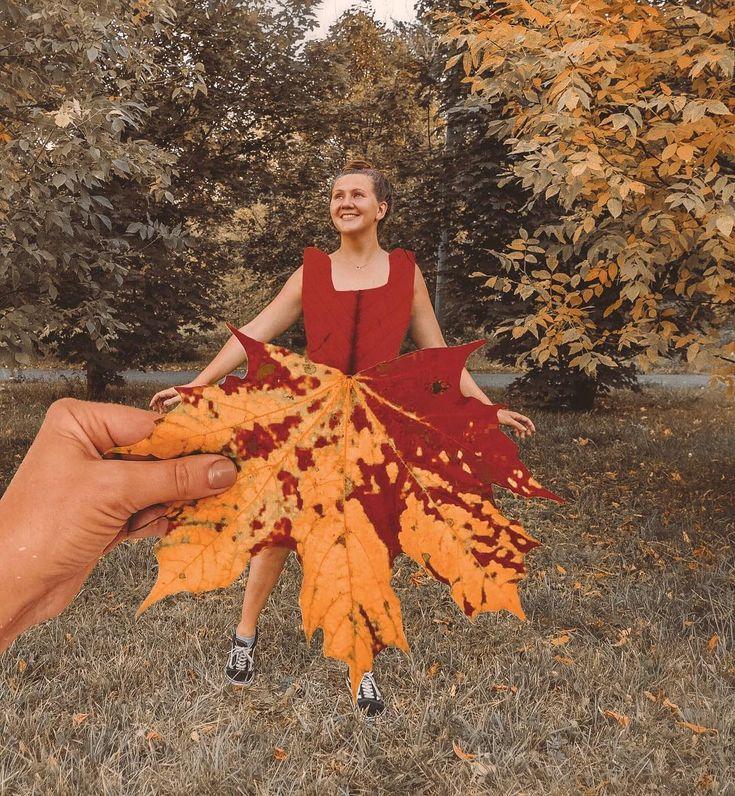 малейшими фото с листом клена как платье всегда выбирал