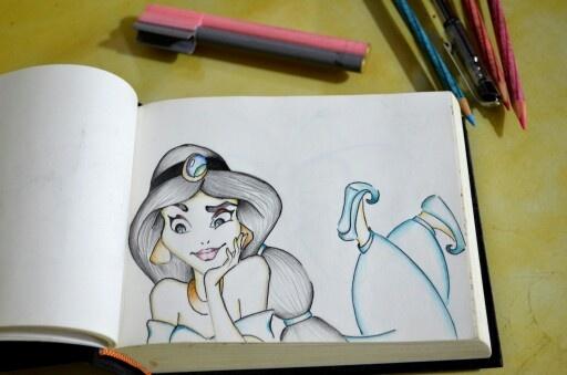 Sketchy Jasmine ^-^