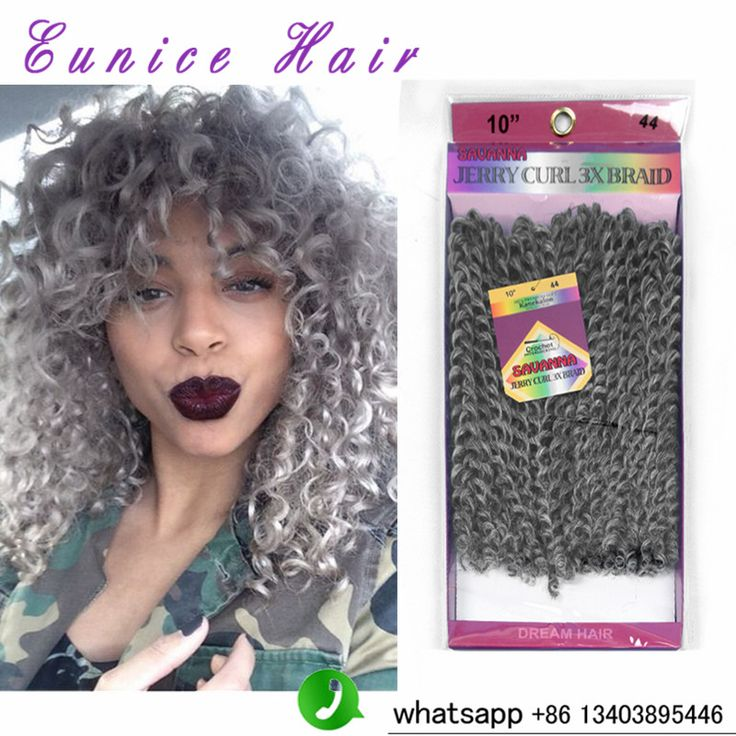 8 Quot Inch Gray Synthetic Crochet Braids Freetress Twists