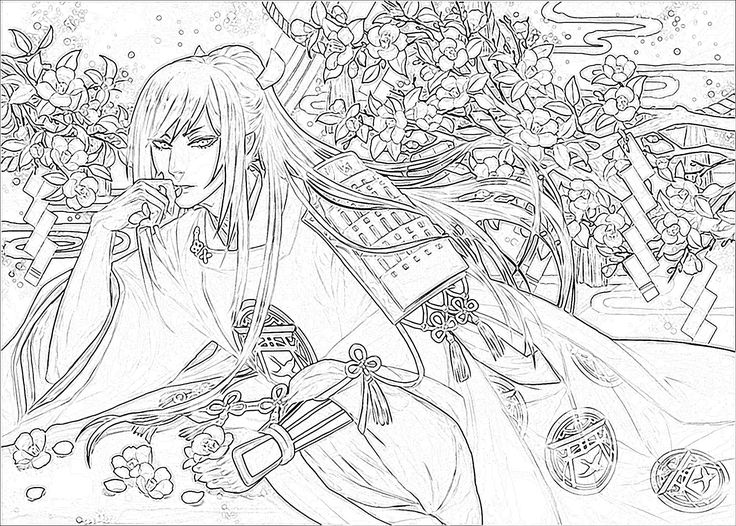 Taroutachi Sketch by me.