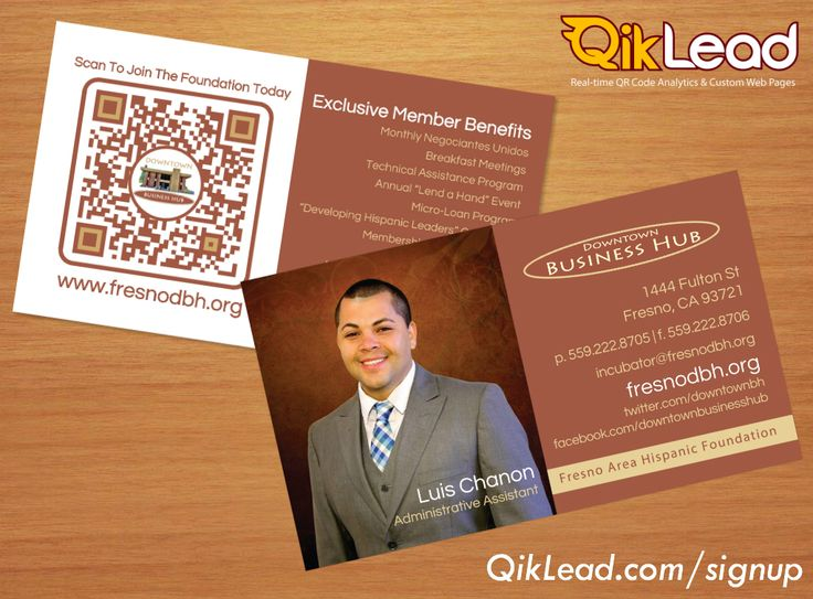 8 best interactive qr code business cards images on pinterest qr qikleadsignup get your interactive business cards today reheart Images