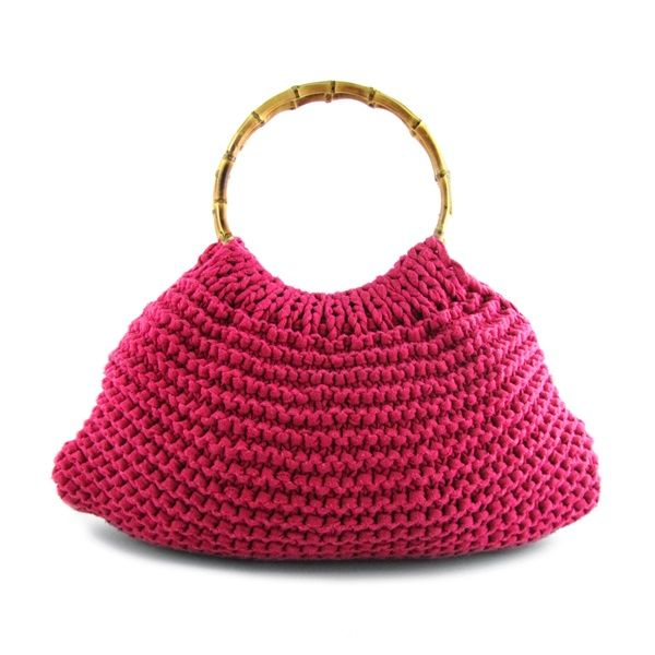 DIY Knit Kit Zpagetti Bag Fiorentina super pink | Hoooked