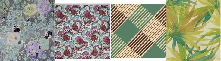 Unikać: akwarela, wzór kwiatowy, symetryczne surowe wydruki, duże wydruki i realistyczne.
