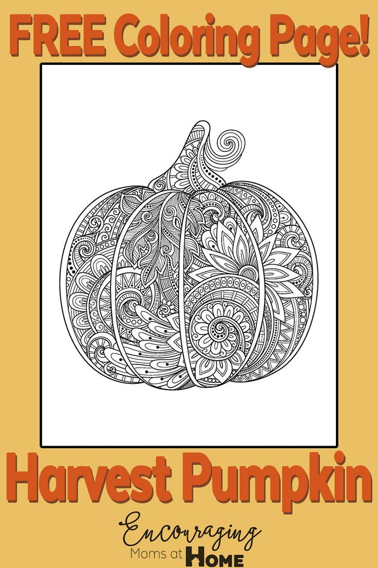 faceless pumpkin coloring pages - photo#19