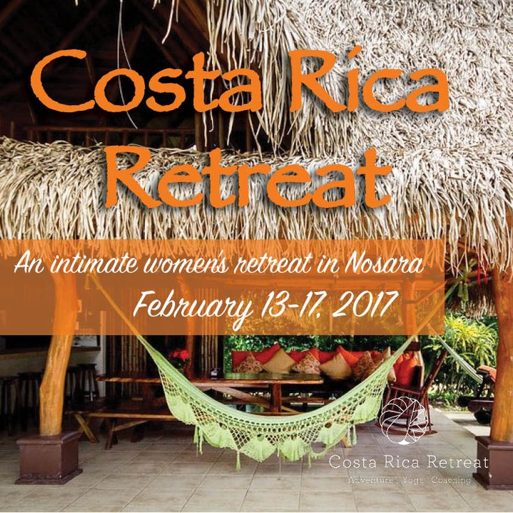 An intimate women's retreat in Nosara. Join us February 13-17, 2017! Register now.