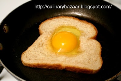 Egg-in-the-hole | Chef In You