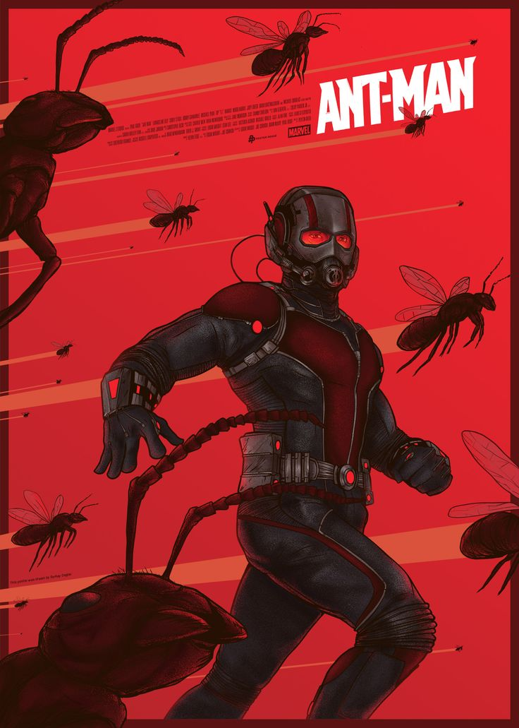 Ant-Man - movie poster - Berkay Daglar