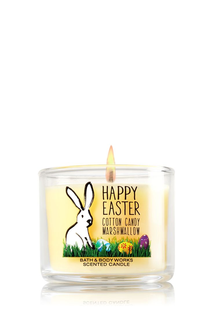 Easter Cotton Candy Marshmallow Mini Candle Home