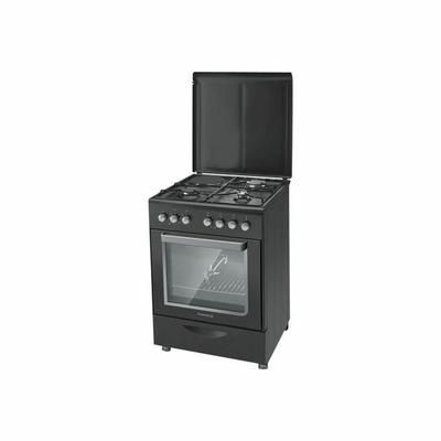 Cuisinière Mixte ROSIERES RMC6321PNX - Cuisiniére Mixte - Four éléctrique 52 L : 6 modes de cuisson - Minuteur 90 min - Gril 1500 W - Contre-porte plein verre - … Voir la présentation