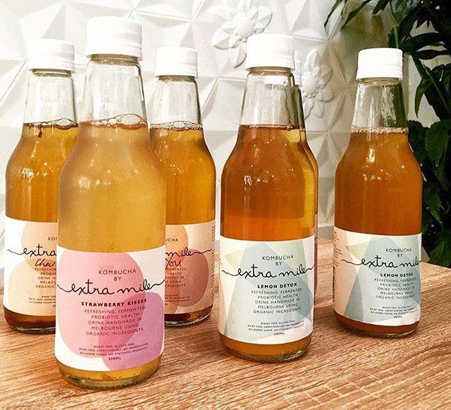 Local Loves / Extra Mile Kombucha Bottles
