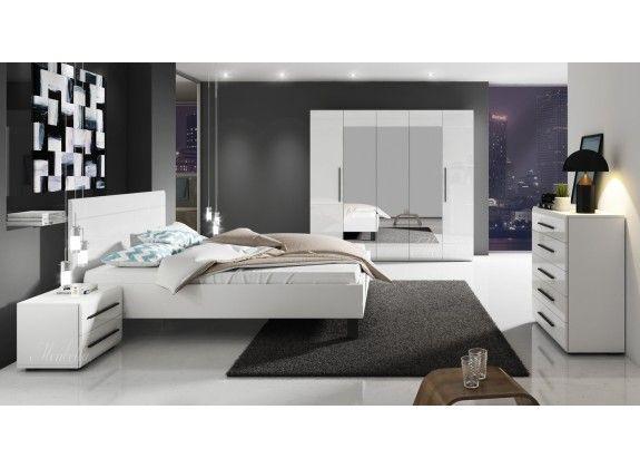 Slaapkamer Hampton 160 - Wit - Groot 2