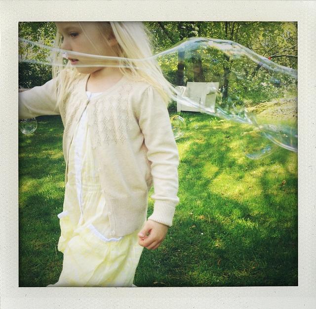Spring bubbles.