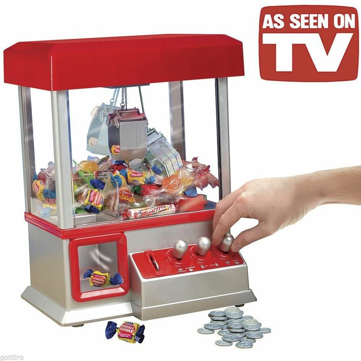 """""""The Claw"""" Electronic Candy Grabber Machine Arcade Game – Kyle played this for h…"""