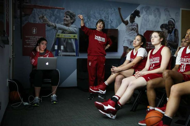 Tara VanDerveer, after stops at Idaho and Ohio State, found a home at Stanford, where she is in her 31st season as the Cardinal coach. Photo: Gabrielle Lurie, The Chronicle