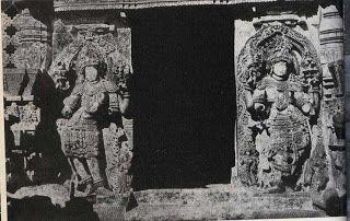 Halebid Temple Gate