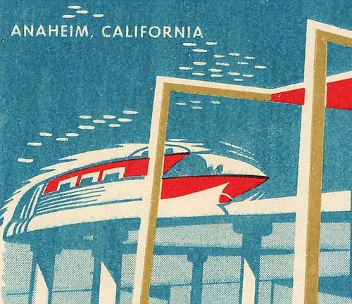 Monorail matchbox cover for Disneyland Hotel: Monorail Matchbox, Disneyland Hotel, Disneyland Castles, Disneyland The Monorail, Disney Parks, Monorail Matchbook, Disneyland Monorail, Disneyland Travelling