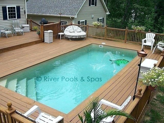 Deck Design Software For Pools Above Ground Fiberglass Pools