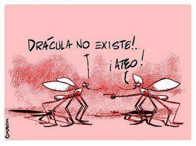chiste grafico mosquitos catolicos