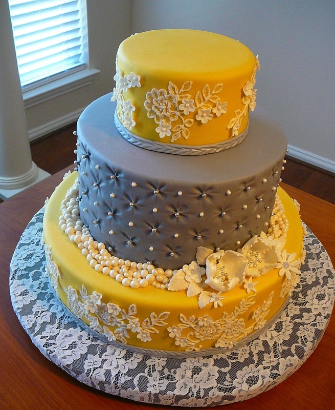 Pintucks and Lace - Cake Doctor, LLC