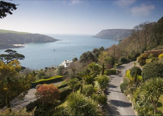 Salcombe, Devon, England....ahhhh, the view