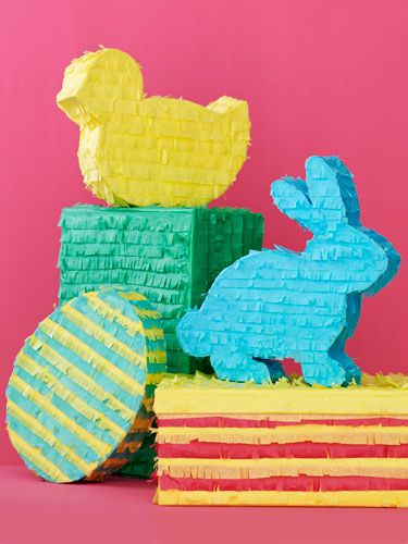 Fringed-paper animals & boxes    MATERIALS   Pencil   White posterboard   Scissors   Ruler  Masking tape  Craft glue  Tissue paper  Shoebox or other small box  Wrapped candy (optional)   Paper-shredding scissors (optional)    Read more: Easter Paper Crafts – DIY Easter Crafts with Tissue Paper - Woman's Day