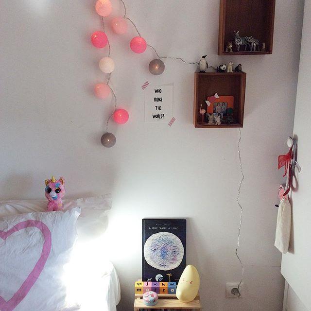 Who runs the world? [à procura da cabeceira perfeita] #details #smallspaces #kidsroom #quartodasbonecas #anossamorada #luminart