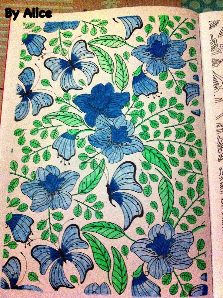 issu du livre 100 coloriages anti stress hachette loisirs colori par mes soins
