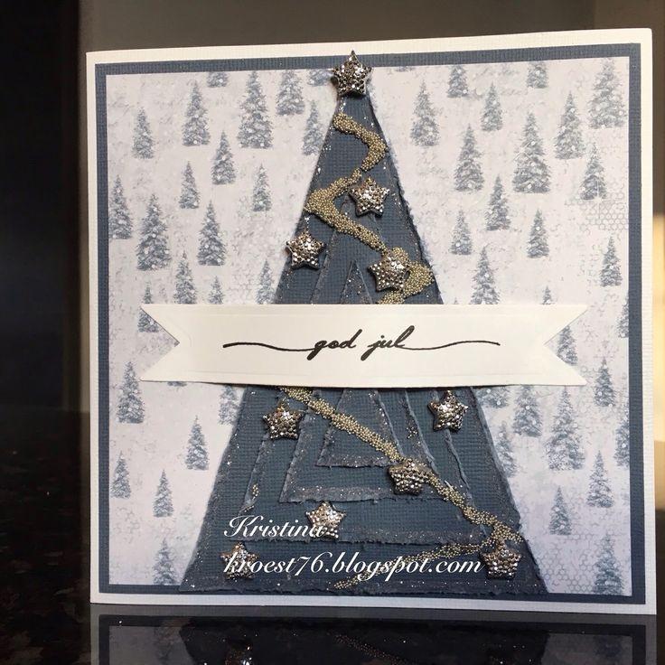 Juletrekort, North Star Design, North Star Stamps, Papirdesign