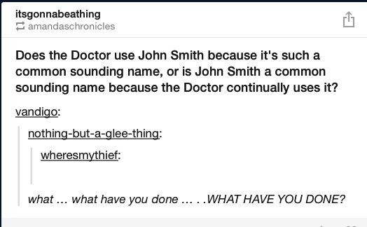 Does makes sense though because we also have the meaning of a Doctor because of him.