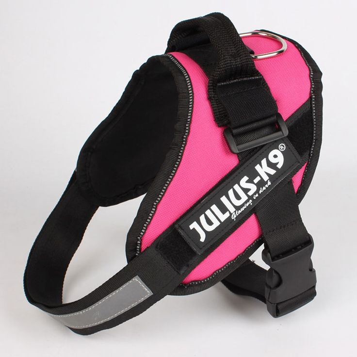Upgrade ReflectiveNylon Large Big DogHarness Vest JULIUS K9 Glow Dog Collar Comfortable Harness Perros Honden Harnas Harnais Chien (6)