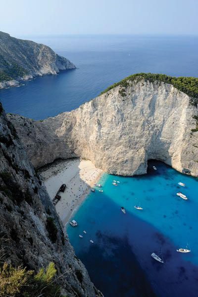Ponant Cruises, a French-owned company, debuts its newest ship this year. Le Lyrial is small enough to anchor at more remote locales including Paxos, the most elusive of the Ionian Islands, and Navagio Beach on Zakynthos, which can only be reached from the water (cabin rates start at $3,130 per person