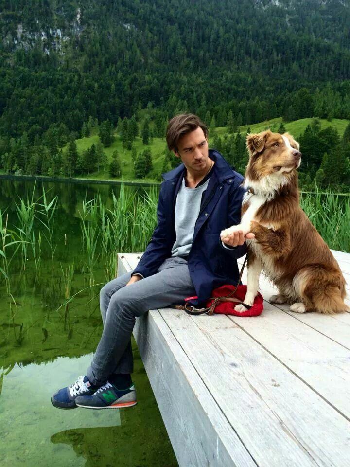 Felix Neureuther with friend Buddy