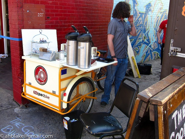 The Good Bike coffee cart by ah_blake, via Flickr