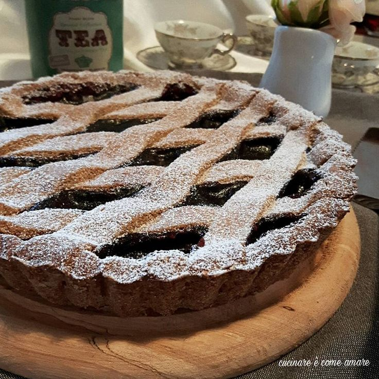 Crostata con farina di grano saraceno torte celiaci for Cucinare x celiaci