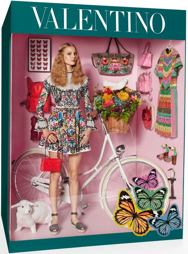Models Pose as High Fashion Dolls in Their Store Packaging in Creepy Photos From Vogue   Adweek